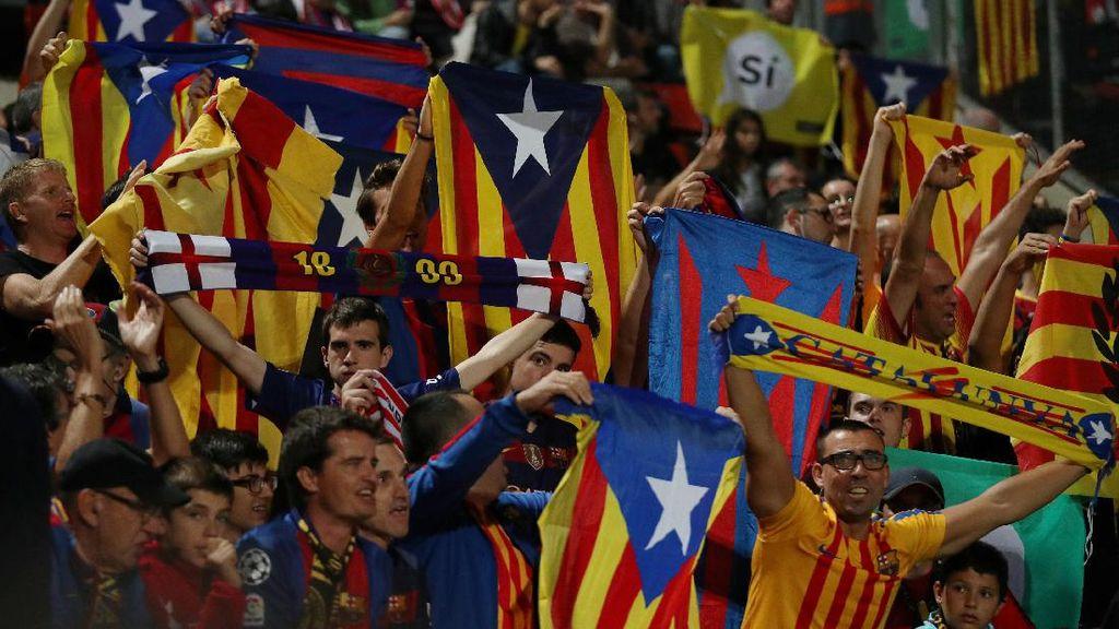 Valverde Enggan Bicara soal Perkembangan Situasi Politik Catalunya