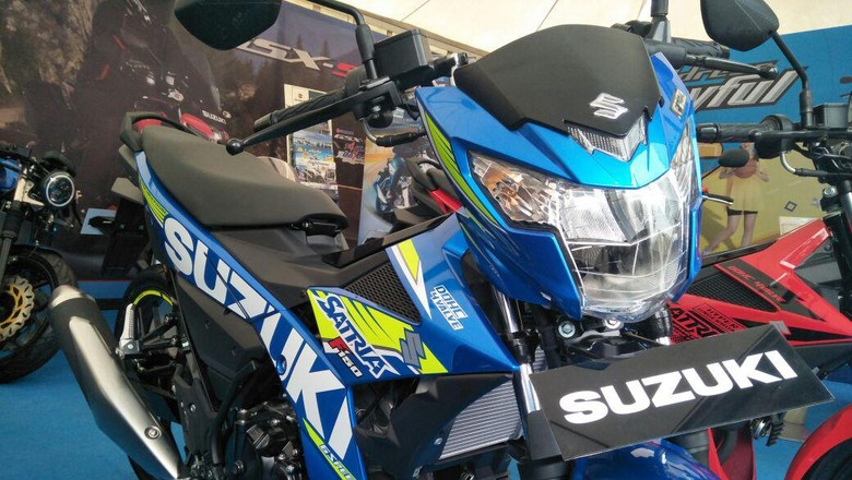 Suzuki Satria (Foto: Ruly Kurniawan)