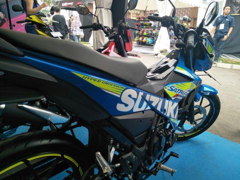 Ada Warna Baru, Harga Suzuki All New Satria F150 Naik Rp 200 Ribu
