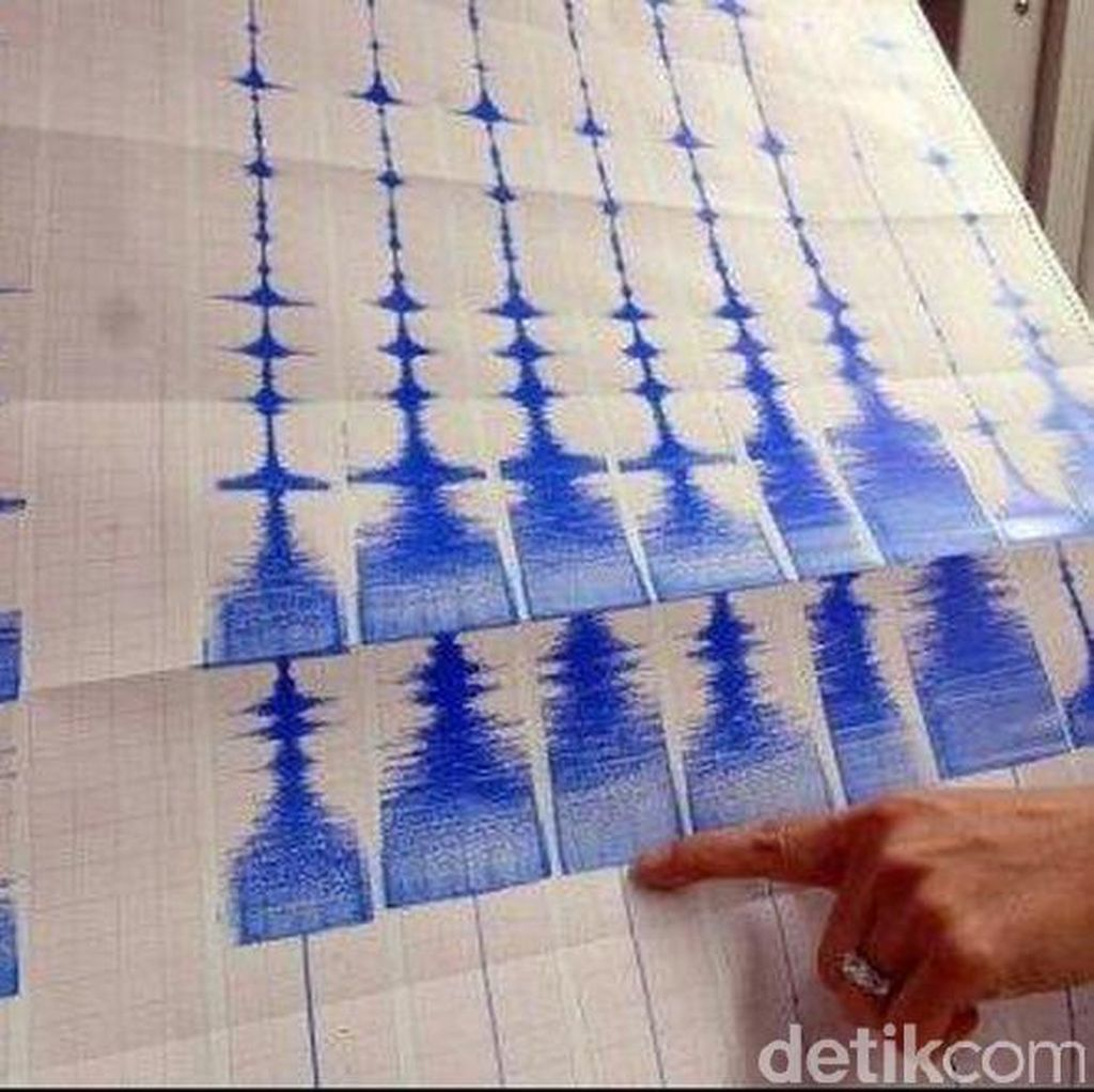 Gempa Bumi 3,4 SR Guncang Kabupaten Bogor