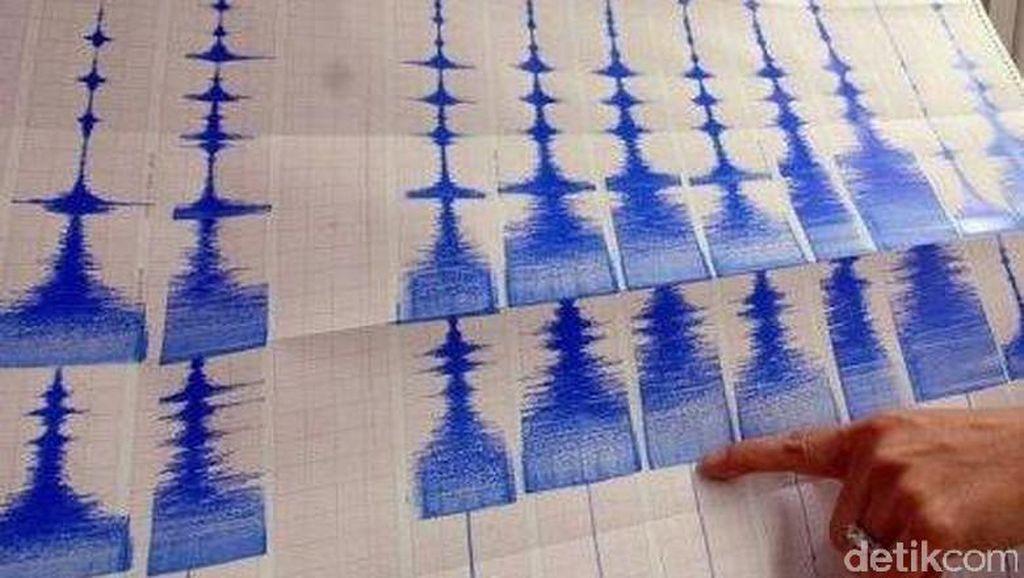 Gempa 5,0 SR Terjadi di Lampung, Tak Berpotensi Tsunami