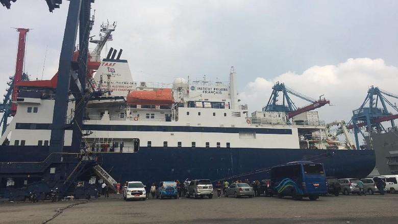Kapal Riset Megah dari Prancis Mampir ke Jakarta