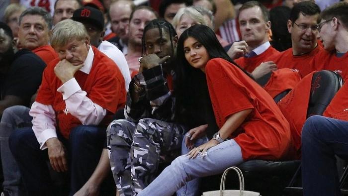 Travis Scott dan Kylie Jenner. Foto: Getty Images