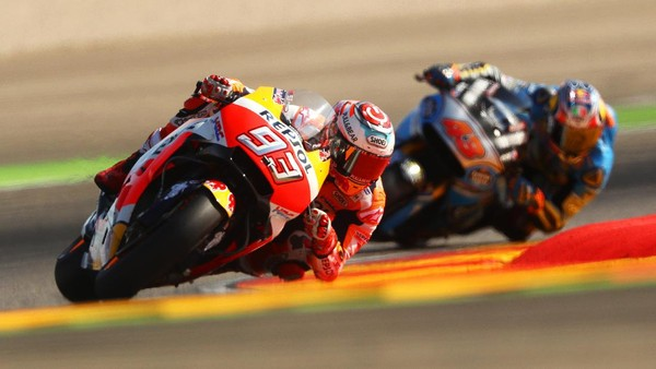 Marquez Sempat Kesulitan Jinakkan Motornya