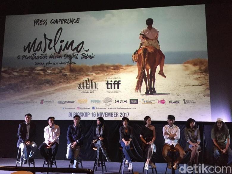 Foto: Film Marlina si Pembunuh Dalam Empat Babak (Dyah Paramita Saraswati/ detikHOT)