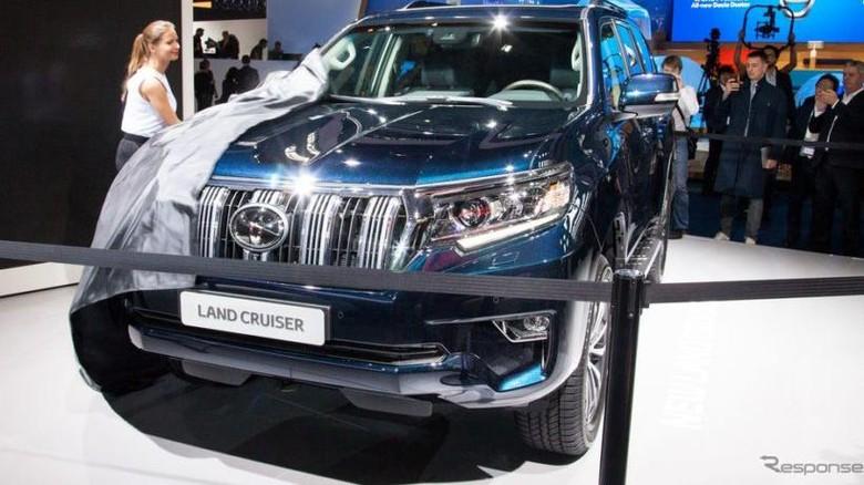 Toyota Land Cruiser Prado 2017 (Foto: Response)