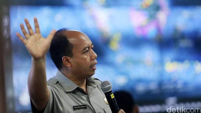 Sutopo Purwo Nugroho. Foto: Ari Saputra/detikcom