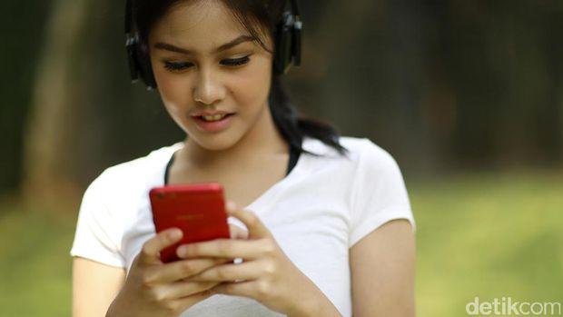 Vanesha Prescilla Pilih Musik Sebagai Teman Berolahraga