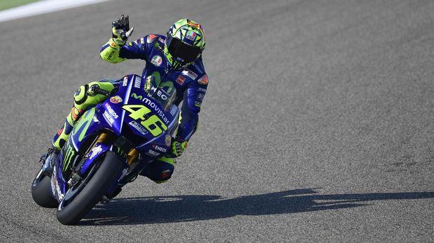 Valentino Rossi belum memberikan keterangan secara jelas terkait batas kariernya di MotoGP.