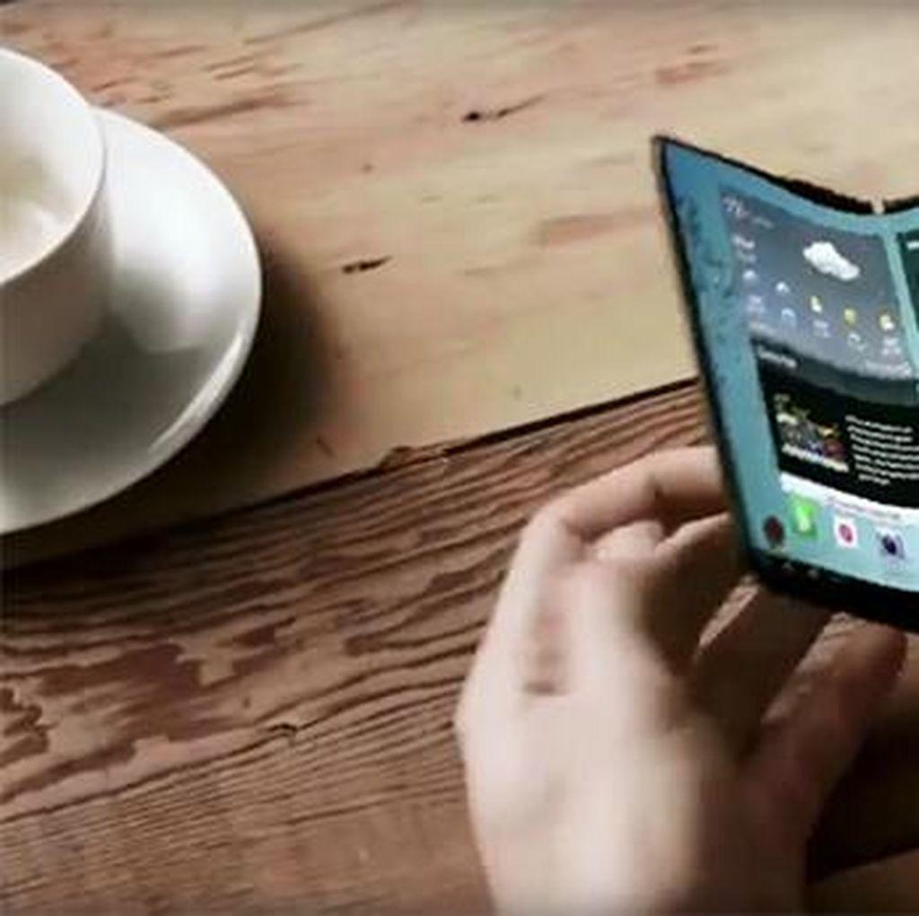 Samsung Ternyata Pernah Batal Bikin Ponsel Lipat