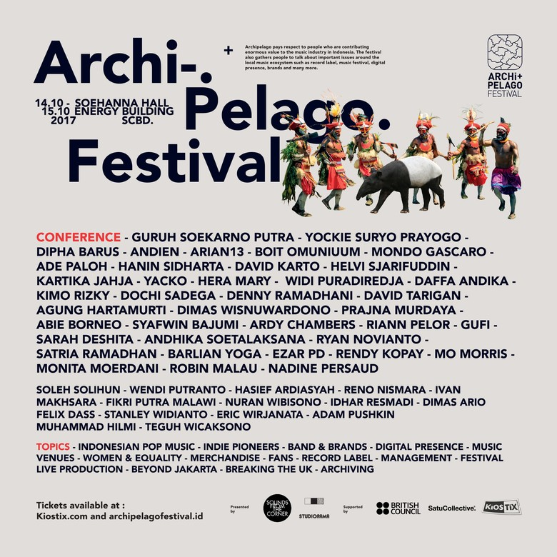 Konferensi Musik Archipelago Festival Digelar Oktober