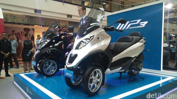 Piaggio Indonesia Meluncurkan Motor Lebih Mahal dari Toyota Avanza