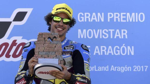 Franco Morbidelli ketika masih menjalani balapan Moto2.