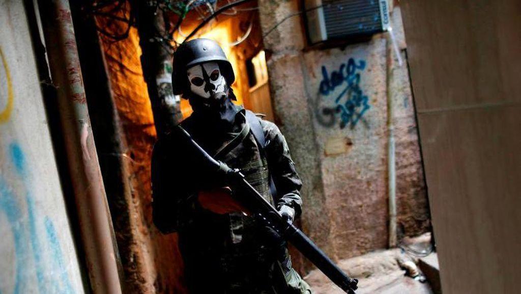 Baku Tembak Geng Narkoba Sebabkan 16 Orang Tewas di Meksiko