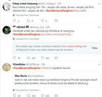 Ketika Tagar #Kamibersamapanglima Mencuat di Twitter