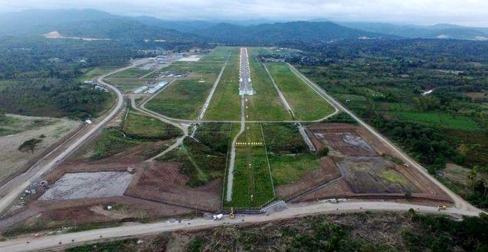 Waskita Karya menggarap pembangunan Bandara di Suai dengan nilai proyek US$ 67 juta dollar AS atau Rp 864,3 miliar. (Waskita Karya).