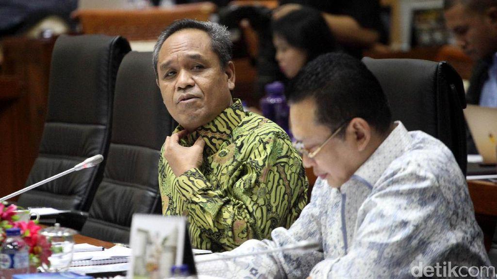 Anggota Komisi III F-PD dan PDIP Saling Sahut di Rapat dengan KPK