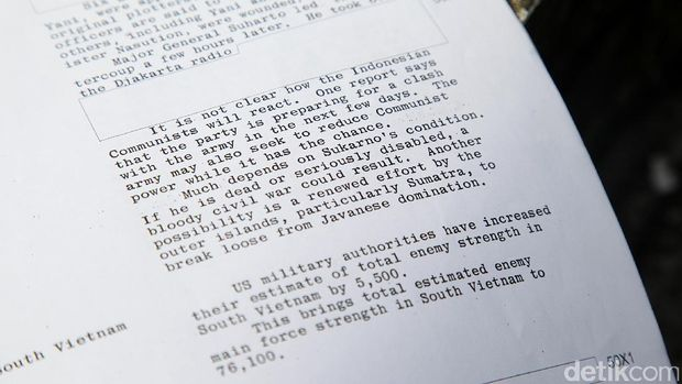 7 Hari Pertama Setelah G30S/PKI yang Dipantau Ketat CIA