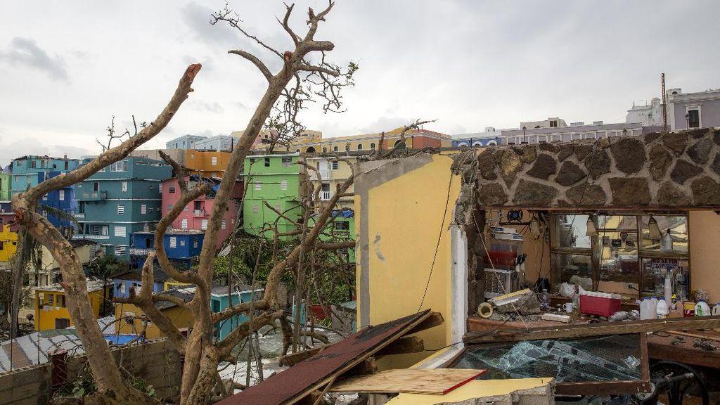 Foto: Kota Despacito Luluh Lantak karena Badai