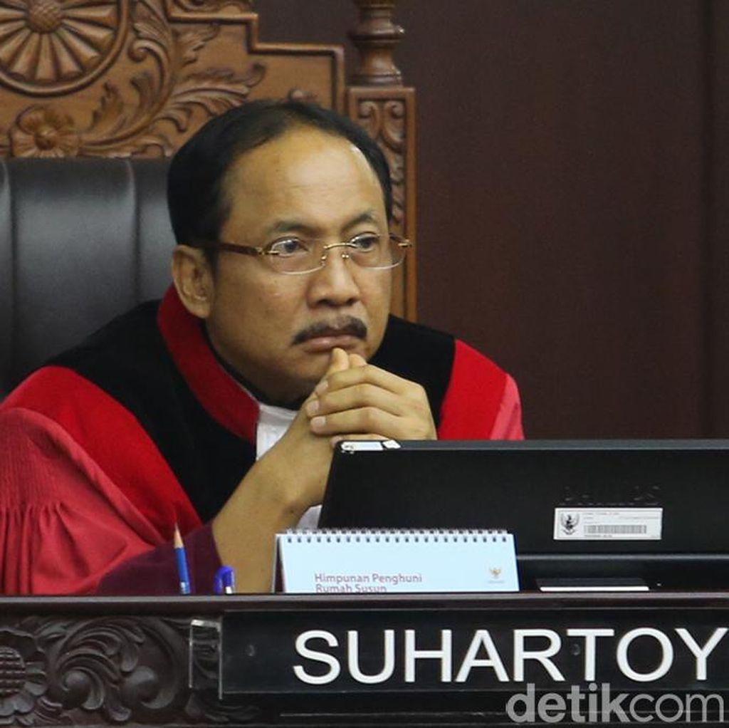 MK Tegaskan Situng Bukan Sumber Data Rekapitulasi Nasional