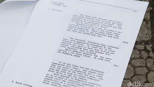 Kisah Jenderal Ke-8 yang Lolos G30S/PKIdan Penting untuk CIA