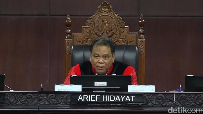 Ketua MK, Arief Hidayat