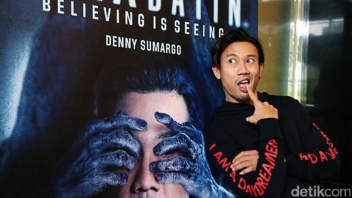 Aktor Denny Sumargo (Foto: Ismail/detikHOT)