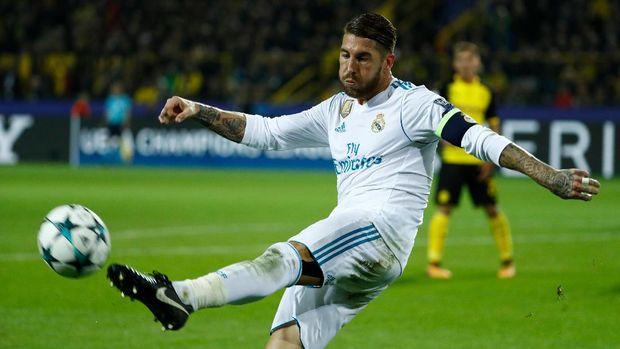 Ramos, Pemain Paling Kotor di El Clasico Barcelona vs Madrid