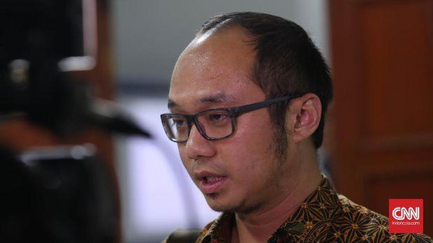 Direktur Eksekutif Charta Politika Indonesia Yunarto Wijaya.