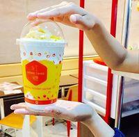 Minuman mangga dari Hong Tang.
