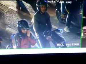 Ketika Pengendara Motor yang Merokok Ditegur Operator CCTV di Bandung
