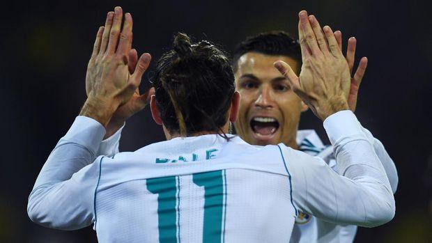 Cristiano Ronaldo mengaku menikmati waktunya di Real Madrid.