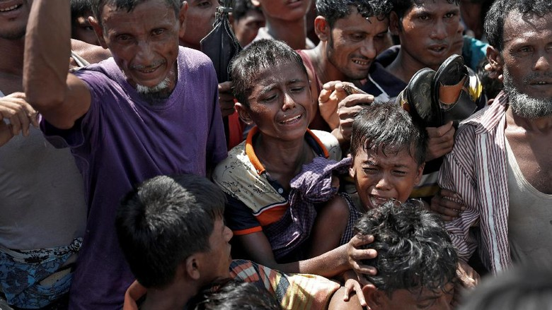 Rohingya Mencemooh Janji Myanmar Untuk Terima Kembali Mereka