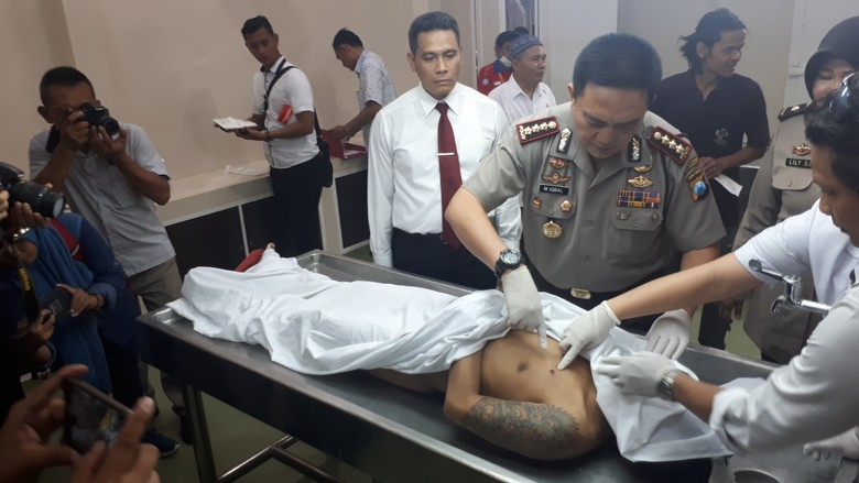 Polisi Surabaya Kembali Tembak Mati Bandit Jalanan