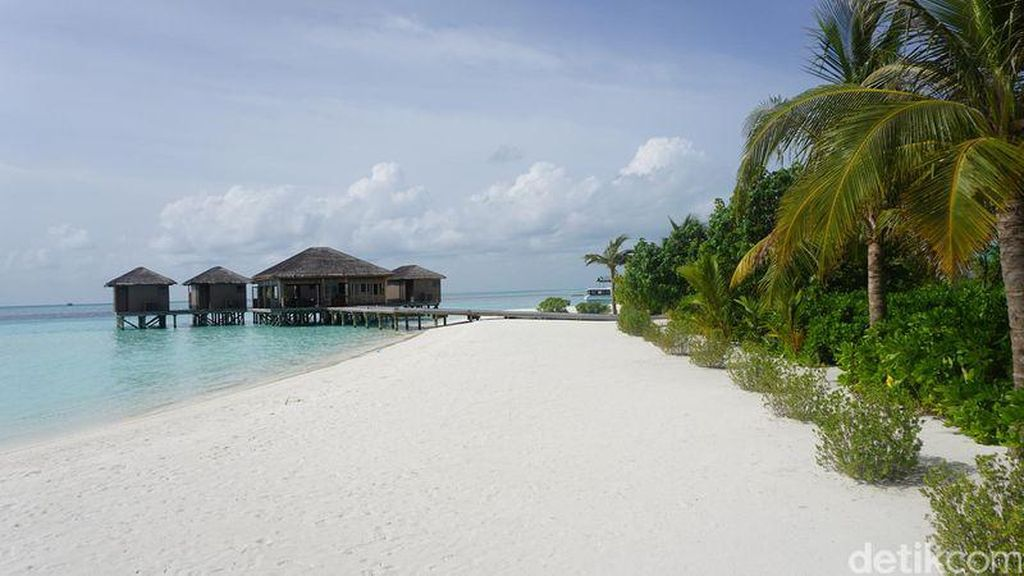Intip Resor Mewah Maldives Tempat Raisa-Hamish Honeymoon