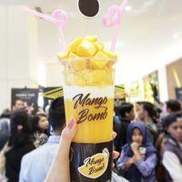 Mango Bomb milik Raffi Ahmad dan Nagita Slavina.