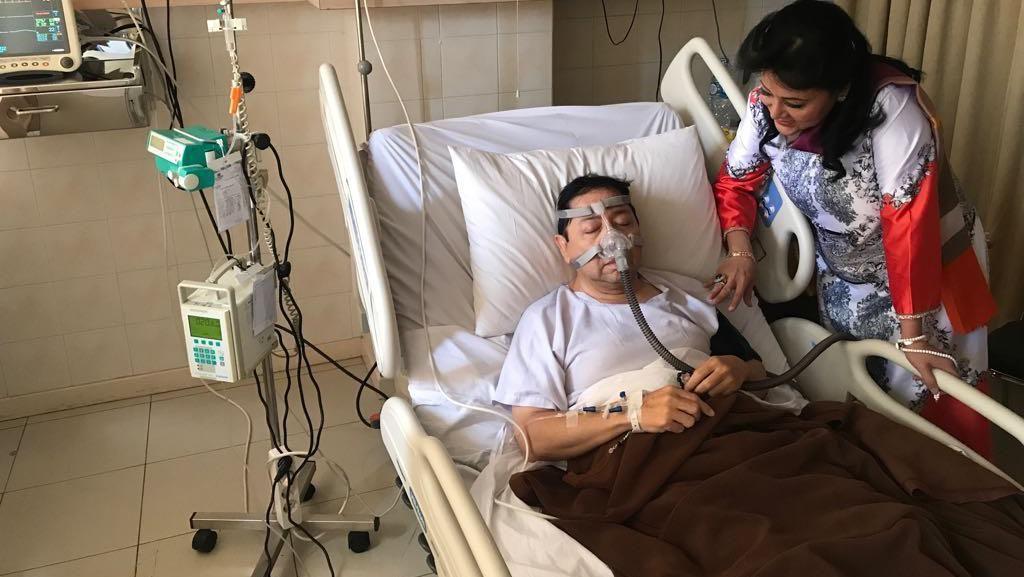 Dokter Jantung Sebut Tak Ada yang Aneh dengan Infus Setya Novanto