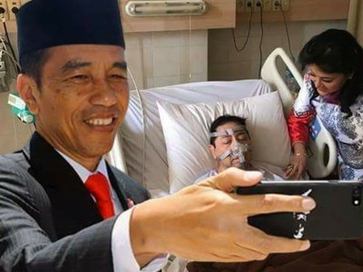 Terlalu! Foto Sakit Setya Novanto Malah Dijadikan Meme oleh Warganet