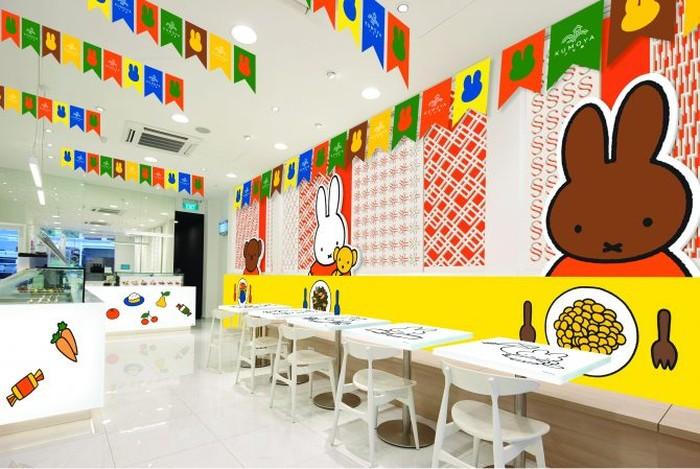 Kafe bertema Hello Kitty, Gudetama hingga Pokemon sempat buka di Singapura. Tak cuma dari Jepang, kini ada kafe Miffy, karakter kelinci lucu asal Belanda.
