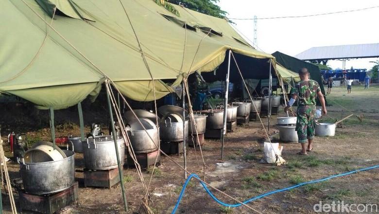 Kebutuhan Beras Pengungsi Gunung Agung 40 Ton Per Hari