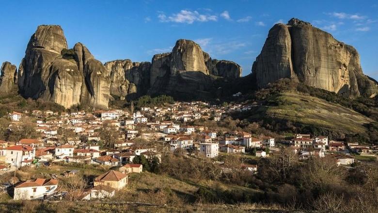 Biara Meteora di Yunani