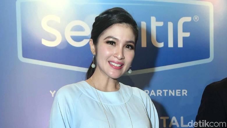 Janin Besar Tapi Baby Bump Kecil Seperti Sandra Dewi? Ini yang Terjadi (Foto: Noel/detikHOT)