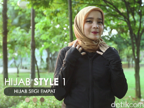 3 Style Hijab yang Nyaman Dipakai untuk Olahraga