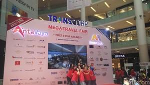 Foto: Berburu Promo Tiket Pesawat dan Tur di Mega Travel Fair Jakarta