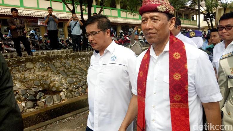 Soal Isu Senjata, Wiranto: Pernyataan Saya Tidak Serang Panglima