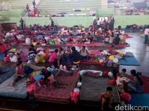 Gunung Agung Awas, Menkes Koordinasi dengan TNI Bangun Pos Kesehatan