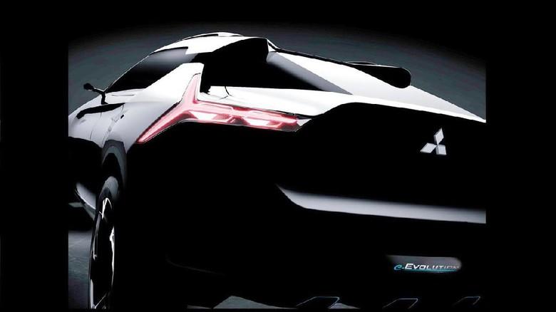 Reinkarnasi Mitsubishi Evo Dalam Bentuk SUV Listrik Foto: Pool (Motor1)