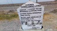 Monumen tragedi Lumpur Lapindo