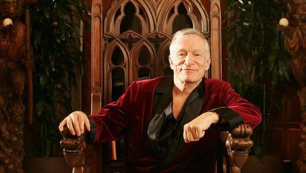 Bos Playboy Hugh Hefner Meninggal Dunia, Dewi Persik Nikah Diam-diam