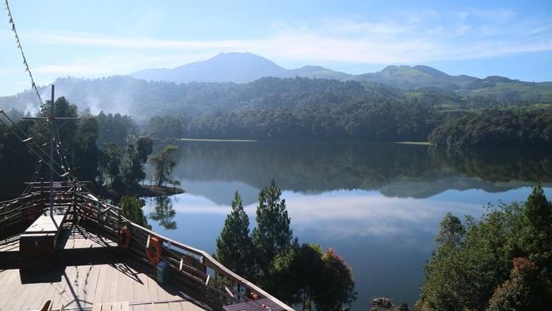 Glamping Lakeside Rancabali di Ciwidey, Bandung